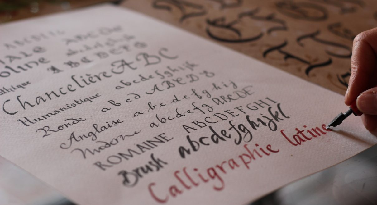 calligraphy business
